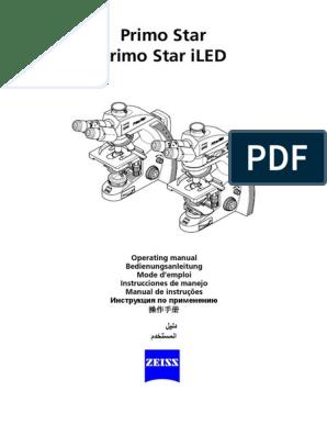 Multilanguage Operating Manual Primo Star Iled