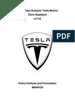 Tesla Case 1