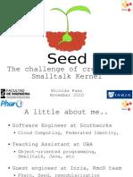 2010 Smalltalks Paez Seed