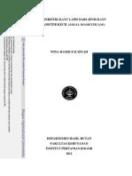 Karakteristik Kayu Lapis Dari Jenis Kayu Berdiameter Kecil - Wina Hamsi Fauziah