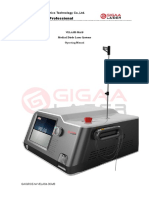 VELASⅡ-30AorB Medical Diode Laser Systems Operating Manual(0197) (1)
