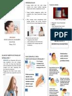 Leaflet Penggunaan Inhaler