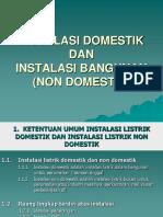 99496573 Instalasi Listrik Domestik Amp Non Domestik
