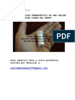 Online Pharmacy - Comprar Análogo Farmacéutico de GHB Online