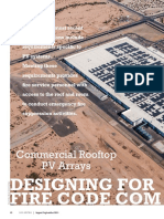 SolarPro7.5 Article Commercial Rooftop PV Arrays Designing for Fire Codes