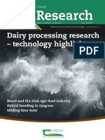 Dairy Processing Research-TechnologyHighlights
