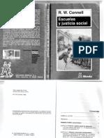 Escuelas y Justicia Social_RWConnell