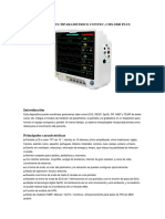 Monitor Multiparametrico Contec Especificaciones