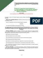Ley Reglamentaria de La Fracción XVIII Del Artículo 73 Constitucional en Lo Que Se Refiere...