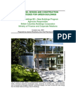 Planning Design and Construction Strategies for Green Building