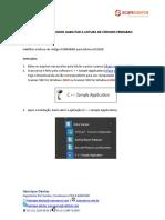 DS2208 - Como Habilitar a Leitura de Códigos Febraban