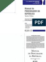 Manual Do Procurador Da República - Alexandre e Andrey Mendonça