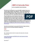The HHV-6 University Report