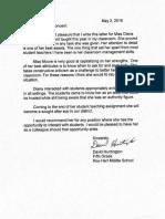 dave huntington refernence letter