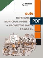 Guia Referencial de Proyectos Hasta 50 Mil