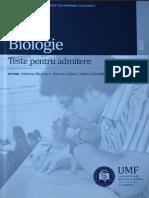 291335214 Teste Biologie Cluj 2014 PDF