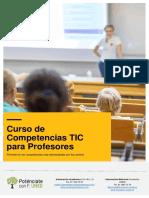 Curso de Competencias TIC Para Profesores