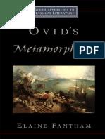 [Elaine Fantham] Ovid's Metamorphoses (Oxford Appr(BookFi)