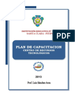 Plan de Capacitación Con TIC