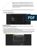 Modul Adobe Premiere Pro CC