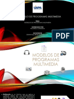 Modelos de PROGRAMAS Multimedia