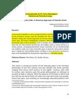 A Racionalização Da Fé Uma Abordagem Histórica Da Patrística Grega Revista São Luis Orione v 1 n 4 Jan Dez 2010