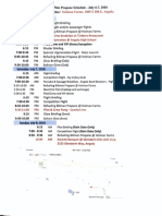 2018 aba pilot schedule