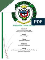 Informe de Proyecto Ambiental