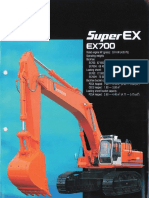 Hitachi EX700 Brochure