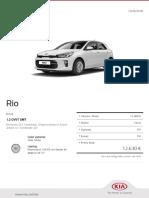 Kia Configurator Rio Drive 20180512