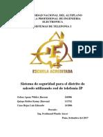 Universidad Nacional Del Altiplano Escuela Profesional de Ingenieria Electronica