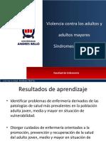 6. Violencia y Síndromes Geriátricos