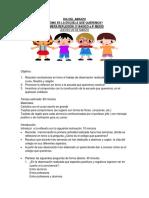 actividades 4° a IV medio dia de la Convivencia Escolar