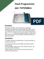 Tvp2588u programmer driver download open
