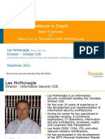 Teradata InfoSec Slides Defense in Depth Best Practices Pres December 2011 - FINAL