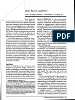 Metformin-Associated Lactic Acidosis