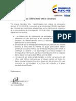 Carta de Compromiso Datos-externos