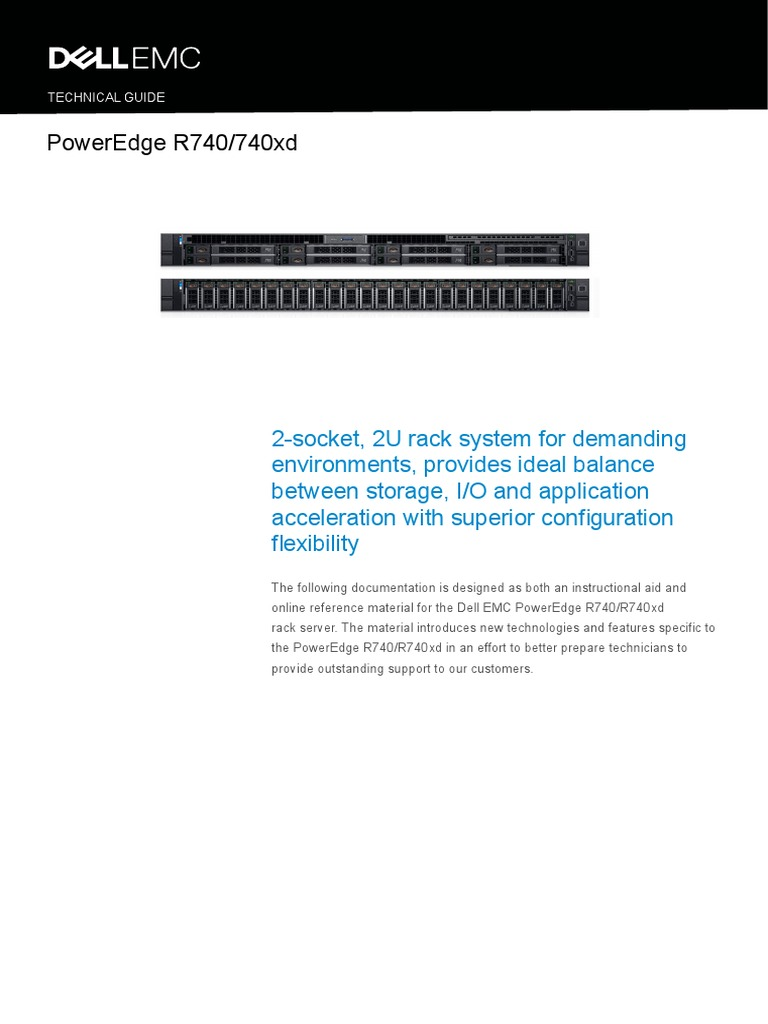 PowerEdge R740 R740xd Technical Guide | Solid State Drive