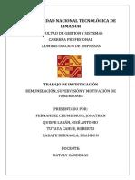 REMUNERACIÓN, MOTIVACIÓN Y SUPERVISIÓN DE VENDEDORES (FUERZA DE VENTAS)