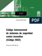 Código SSCI. Sistema Seguridad Incendios E155S