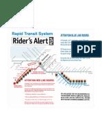 Rta Rider Alert