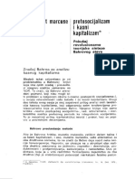 Herbert Markuze - Protosocijalizam i Kasni Kapitalizam