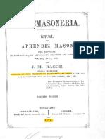 01. Aprendiz. Liturgia de Ragon (1)