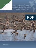 Estrategia de Conservacion Aves Playeras