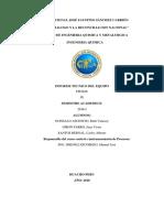Informe Técnico Del Equipo