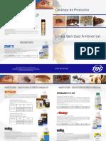 Catálogo de Sanidad Ambiental 2013
