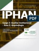 Apostila IPHAN - Auxiliar Institucional - Arquivologia (2018) - Novas Concursos.pdf