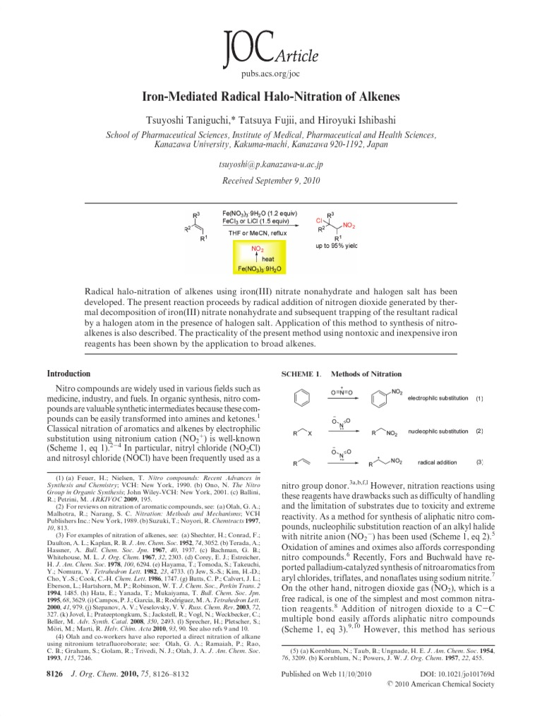 8126 pdf | Chemical Reactions | Alkene