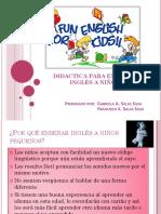DIDACTICA PARA ENSEÑAR INGLÉS A NIÑOS.pdf