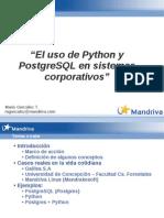 Python Postgresql Sistemas Corporativos